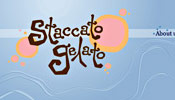 Staccato Gelato website