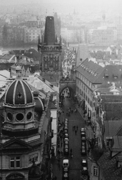 Project travel photography role photographer note paris prague architecture materials black white negative film